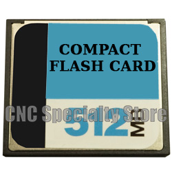512MB Compact Flash Card Compatible with CNC Fanuc - CNC