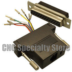 DB25 Female to RJ45 Adapter Converter - CNC Specialty Store