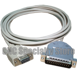 CNC DNC 10 ft Fanuc Fadal RS232 Serial Cable DB9 Female to DB25 Male