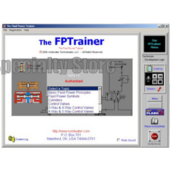Fluid Power Training - Hydraulics & Pneumatic Trainer Software